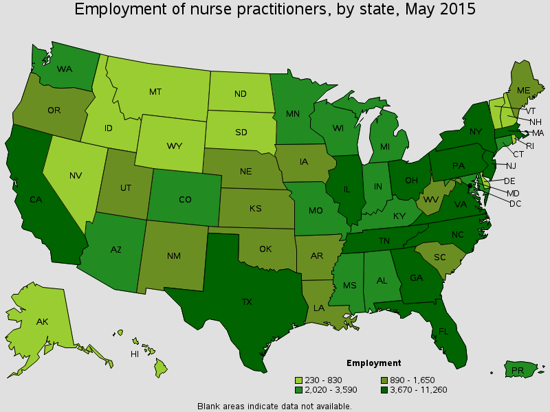 employment-of-np-by-state-2015